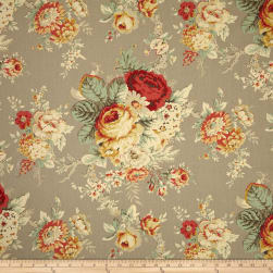 Waverly Sanctuary Rose Clay Fabric