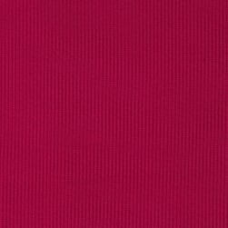 Poly Rib Knit Solid Cool Magenta