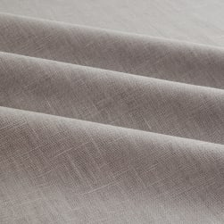 European 100% Washed Linen Steel