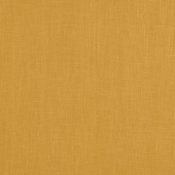 European 100% Washed Linen Mustard Fabric