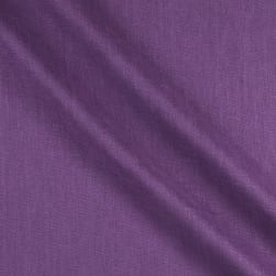 European 100% Laundered Linen Purple Fabric