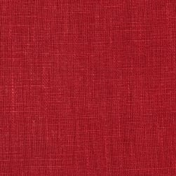European 100% Washed Linen Red Oak Fabric