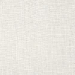 European 100% Washed Linen White