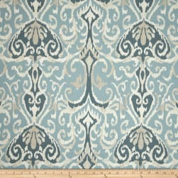 Magnolia Home Fashions Winchester Ikat Spa Fabric