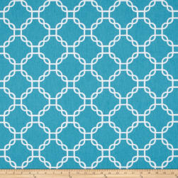 Golding by P Kaufmann Criss Cross Turquoise Fabric