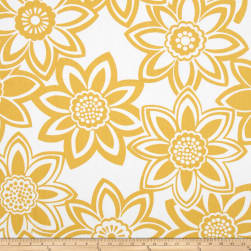 Golding by P Kaufmann Full Bloom Maize Yellow Fabric