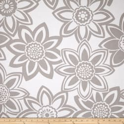 Golding by P/Kaufmann Full Bloom Grey Fabric