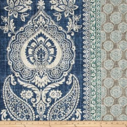 P Kaufmann Touch of Provence Mediterranean Blue Fabric
