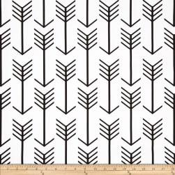 Premier Prints Arrow White/Black Fabric