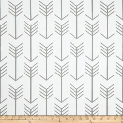 Premier Prints Arrow Twill White/Ecru Fabric