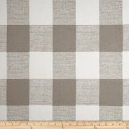 Premier Prints Anderson Check French Grey Fabric