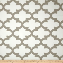 Premier Prints Fynn White/Ecru Fabric