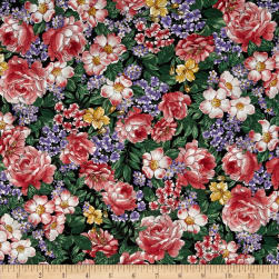 Michael Miller Flower Fairies Dreamland Flowers Bloom Fabric