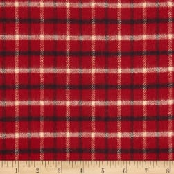 Primo Country Squire Flannel Small Plaid Red