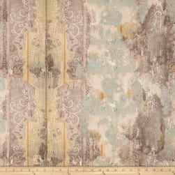 Tim Holtz Electric Elements Wall Flower Worn Wallpaper