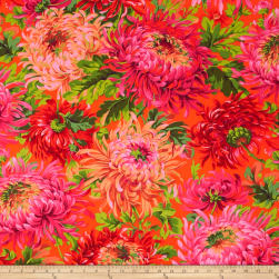Kaffe Fassett Shaggy Red Fabric