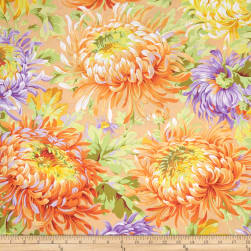 Kaffe Fassett Shaggy Yellow Fabric