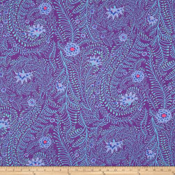 Kaffe Fassett Ferns Purple Fabric