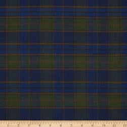 Cozy Yarn Dye Flannel Large Plaid Navy