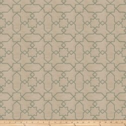 Jacquard Remora Sea Green Fabric