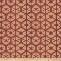 Jacquard Entangle Plum Fabric