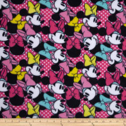 Disney Minnie Bags & Bows Fleece Head Toss