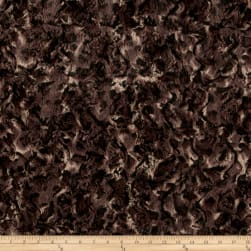 Shannon Minky Luxe Cuddle Bobcat Taupe/Black Fabric