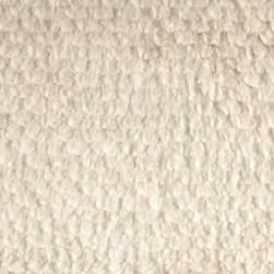 Tissavel Luxury Faux Fur Sheared Ivory