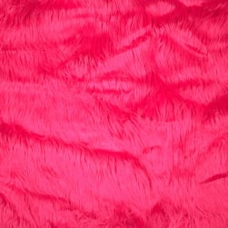 Shannon Faux Fur Gorilla Hot Pink Fabric