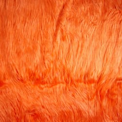 Shannon Faux Fur Gorilla Orange
