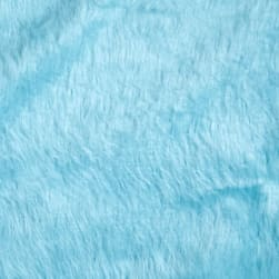 Shannon Faux Fur Monkey Turquoise Fabric