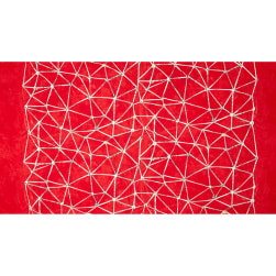 Story Constellation Red Fabric