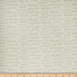 Bella Dura Indoor/Outdoor Phillips Pisces Lily Pad Fabric