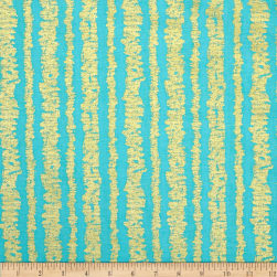 Michael Miller Glitz Garden Metallic Bars Luna Fabric
