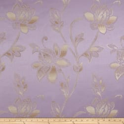 Eroica Glamour Chenille Jacquard Floral Lavender Fabric