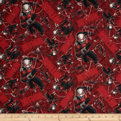 Marvel Ant Man Ant Man Toss Red Fabric