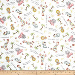 Nursery Bazooples Sweet Dreams Animal Toss Multi Fabric