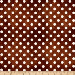 Daily Grind Polka Dot Brown