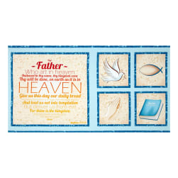 Our Father Panel Blue