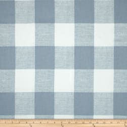 Premier Prints Anderson Check Cashmere Blue Fabric