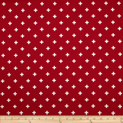 Premier Prints Mini Swiss Cross Lipstick Fabric