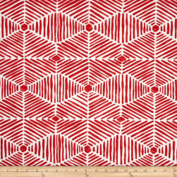 Premier Prints Indoor/Outdoor Heni Rojo