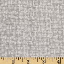 Dear Stella Net Flannel Grey Fabric