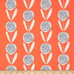 Art Gallery Curiosities Candied Lollies Orange Fabric