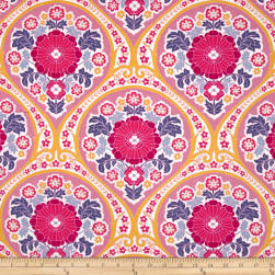 Joel Dewberry Atrium Grace Fuchsia Fabric