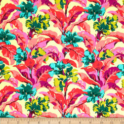 Amy Butler Bright Heart Tropi Canna Peach Fabric