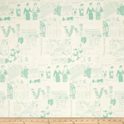 Riley Blake Fancy & Fabulous Pattern Mint