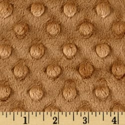 Shannon Minky Cuddle Dimple Extra Wide Cappuccino Fabric