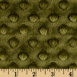 Shannon Minky Cuddle Dimple Extra Wide Cactus Fabric