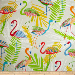 Richloom Indoor/Outdoor Flamingo Fruit Punch Fabric